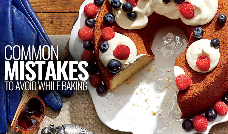 Common Mistakes That People Make While Baking